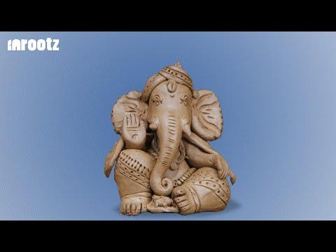 From Clay to Clay  - Eco Friendly Ganesha
