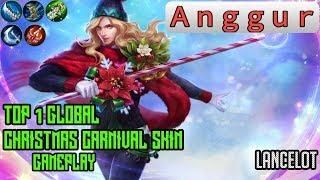 Christmas Carnival Lancelot.Mobile Legends Lancelot Skin Gameplay Videos 9tube Tv