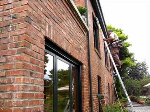 Window cleaning with commercial grade suction cup
