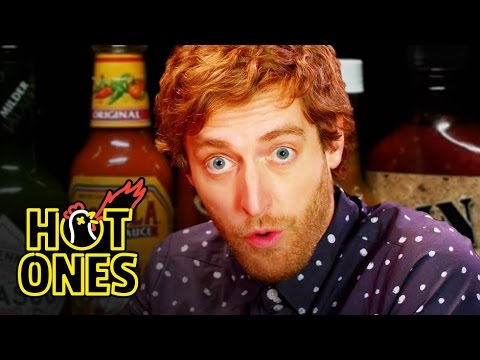 Xxx Mp4 Thomas Middleditch Does Improv While Eating Spicy Wings Hot Ones 3gp Sex