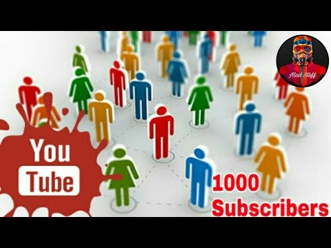 1000 subscribers (Mad Stuff Celebration)