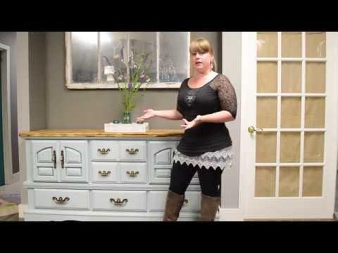 Furniture Rehab Dresser Make Over
