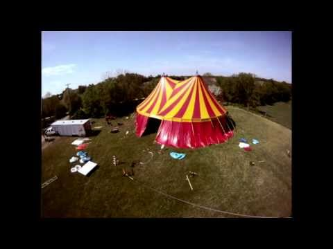 Circus Tent Build Time Lapse