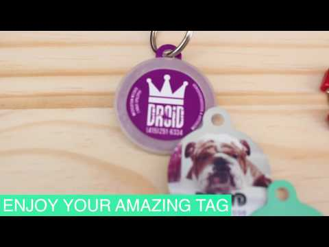 Create your own Dog Id Tag | uPet Dog Tag Customizer