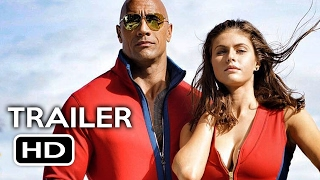 Baywatch Super Bowl Trailer (2017) Dwayne Johnson, Zac Efron Comedy Movie HD