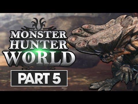 Monster Hunter World Walkthrough Part 5: Barroth