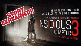 Insidious Chapter 3 (2015) Story Explained - What Really Happened   Insidious 3 Movie Review