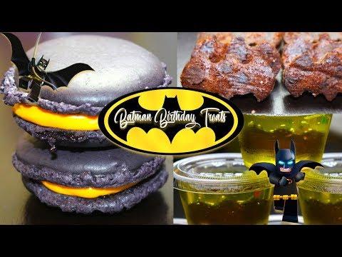 Batman Birthday Treats