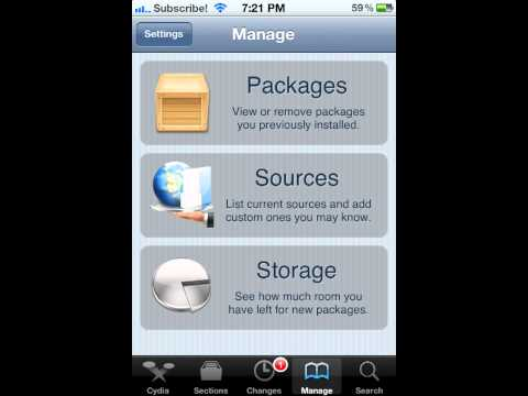How to get Barrel and Free Apps in IPhone with Cydia