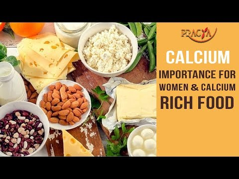 Calcium Importance For Women and Calcium Rich Food