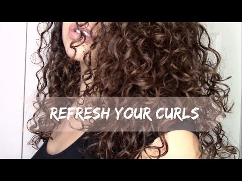 HOW TO REFRESH/RESTYLE YOUR CURLS