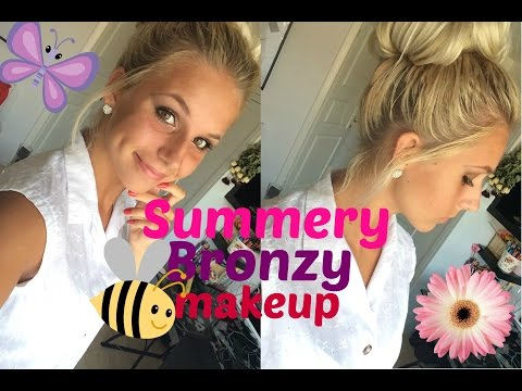 Get Ready With Me ❤ Summery Bronzy makeup