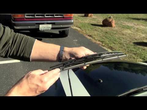 Replacing Wiper Blades on a MINI Cooper