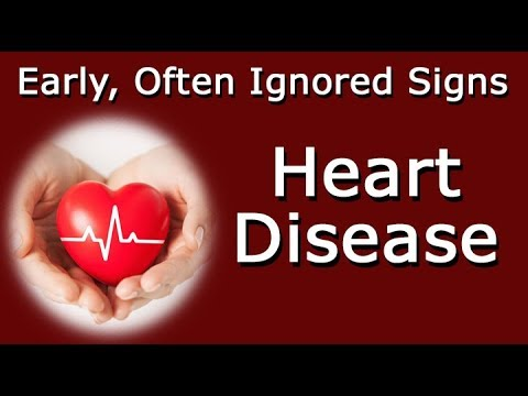 Early, Often Ignored Signs Of Heart Disease