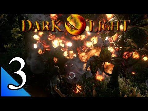 Dark & Light 3:  Fire Magic Level 2...  Fireball!!!  Let's Play Dark & Light Gameplay