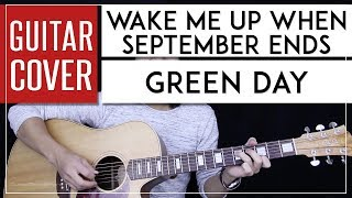 Wake Me Up When September Ends Guitar Tutorial - Green Day