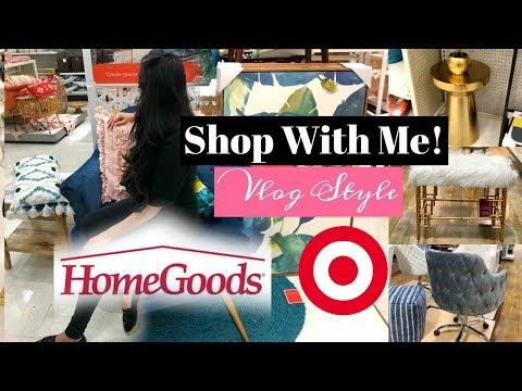 Vlog - Shop With Me! Homegoods & Target OpalHouse - MissLizHeart