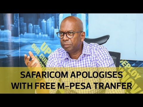 Safaricom to waive M-Pesa charges for 24 hours over system downtime