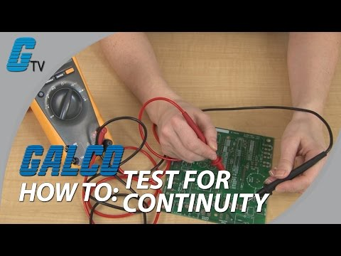 What is Continuity and How to Test for it With a Multimeter