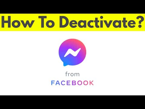 How To Deactivate/Delete Facebook Messenger Account On Android & Logout From All Devices-2018