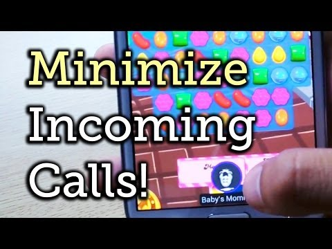 Minimize Incoming Calls When Playing Games or Using Apps - Samsung Galaxy Note 2 [How-To]