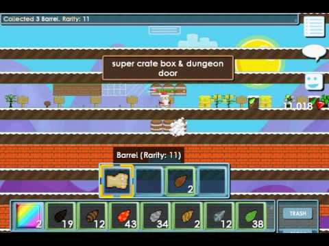 Growtopia   How to make - Toxic Waste Barrel