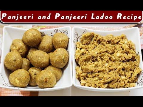 Panjiri / panjiri ladoo recipe