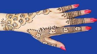 Latest Henna Mehndi Design For Hands : New Beautiful Mehndi Design #168 @ jaipurthepinkcity