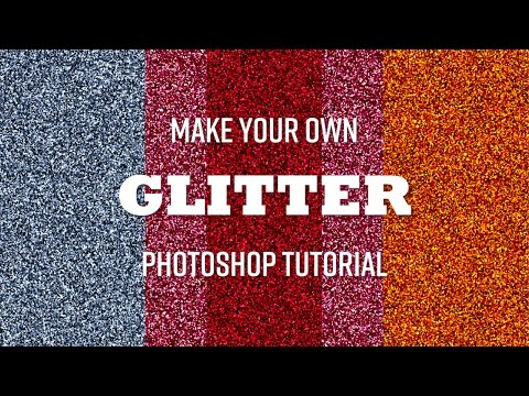 How to create Glitter with Photoshop