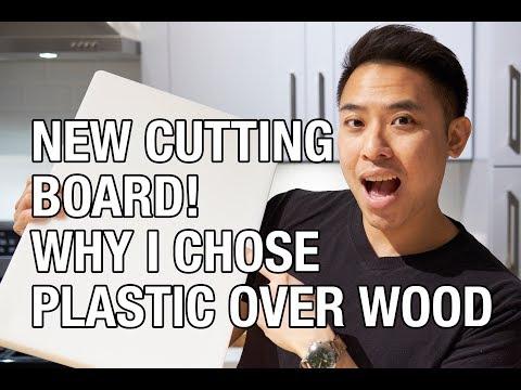 Why I Chose A Plastic Cutting Board Over Wood