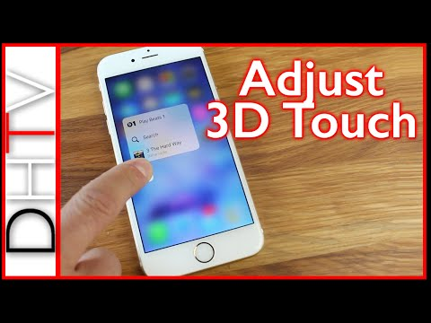 How To Turn On/Off 3D Touch Or Customize The Sensitivity - iPhone 6s & iPhone 6s Plus