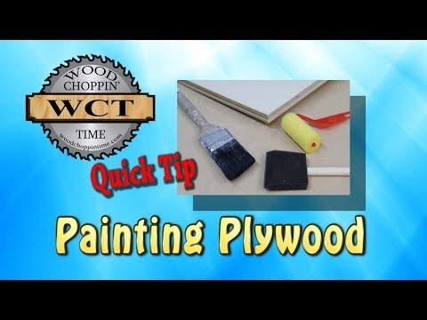 Plywood Painting Tip