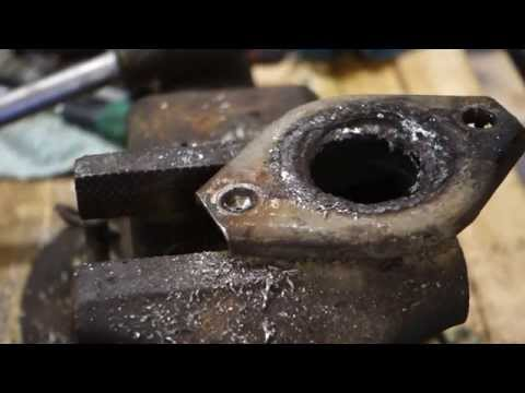 How to remove broken bolt away. Case exhaust pipe.