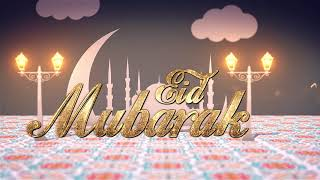 Eid Mubarak Motion Graphics Video - AHAD MEMON