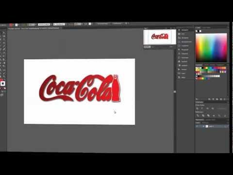 Adobe Illustrator CS6 New Coca Cola Trademark SpeedArt