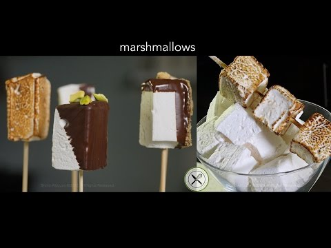 How to Make Marshmallows – Bruno Albouze – THE REAL DEAL