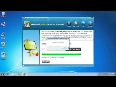 Reset Forgotten Local Administrator Password on Windows Server 2008 R2