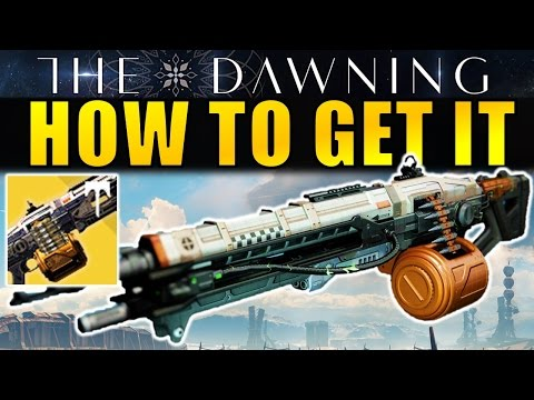 Destiny: How to get the Abbadon Exotic Machine Gun (Complete Guide) | The Dawning