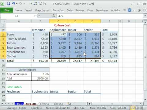 Excel Magic Trick 591: Paste Special Operations Add & Multiply