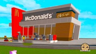 Roblox McDonalds Tycoon - Building A Fast Food Restaurant - Online Game Lets Play