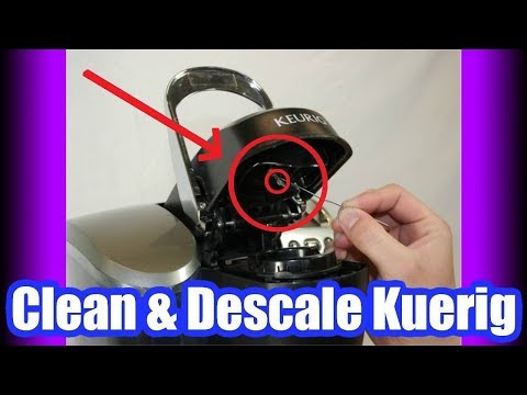 How to Clean a Keurig Coffee Maker with Vinegar (EASY) Kuerig 2.0 Cleaning Instructions!