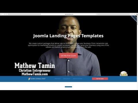 BACKGROUND - Joomla Marketing Themes by Mathew Tamin