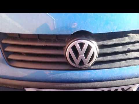 How to change VW Polo headlight bulb