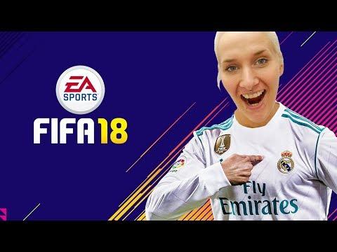 NINA ZOCKT 1.MAL FIFA 18! Wie wird sie reagieren? Mädchen spielt Fifa! #KaNiZocken