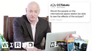 Scott Kelly Answers Astronaut Questions From Twitter | Tech Support | WIRED