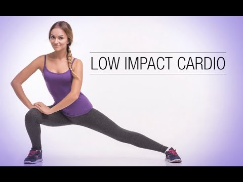 Low Impact Cardio Workout (PERFECT FOR BAD KNEES!!)