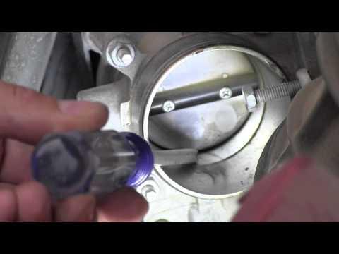 2008 Toyota Corolla Throttle Body Inspection