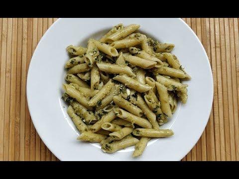 Pesto Pasta in Roasted Aubergine Sauce @ Guru's Cooking