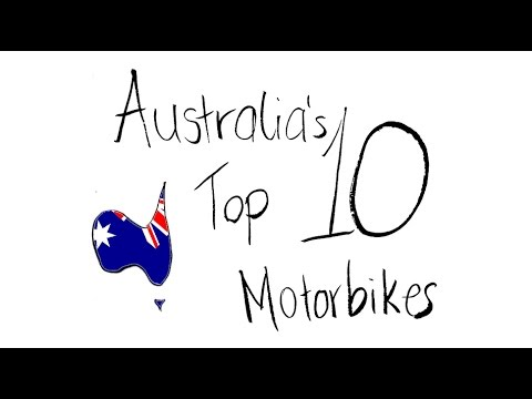TOP 10 MOST POPULAR MOTORCYCLES IN AUSTRALIA!