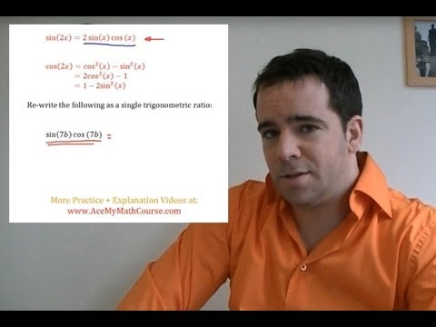 Double Angle Identities (Trigonometry) - Question #4